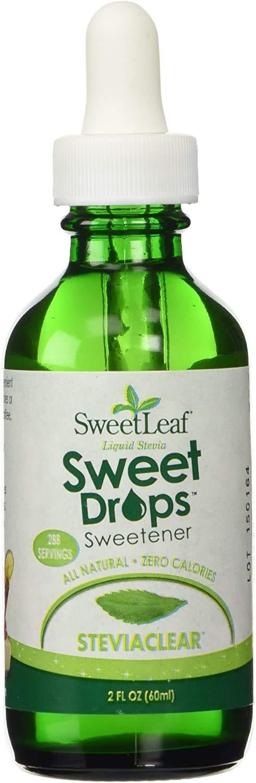 SweetLeaf, Sweet Drops Liquid Stevia Sweetener, SteviaClear, 2 oz