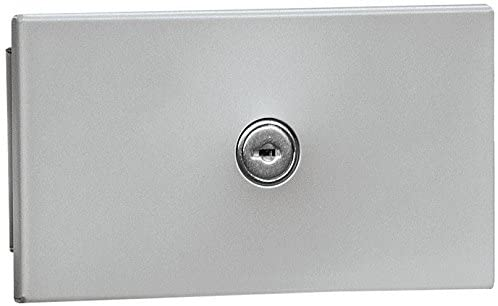 Salsbury Industries 1090AU Recessed Mounted USPS Access Key Keeper, Aluminum