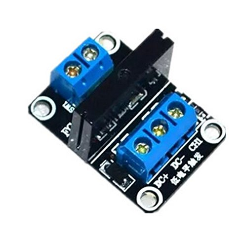 10PCS 1 5V Low Level Solid State Relay Module with Fuse Solid State Relay 250V2A