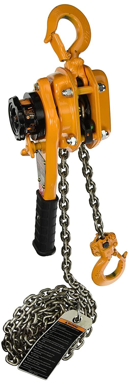 Harrington LB Series Steel Lever Hoist with Slip Clutch, 9-19/32