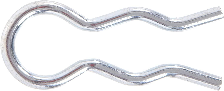 The Hillman Group 3679 3/32-Inch External Hair Pin Clip Zinc Plated, 25-Pack