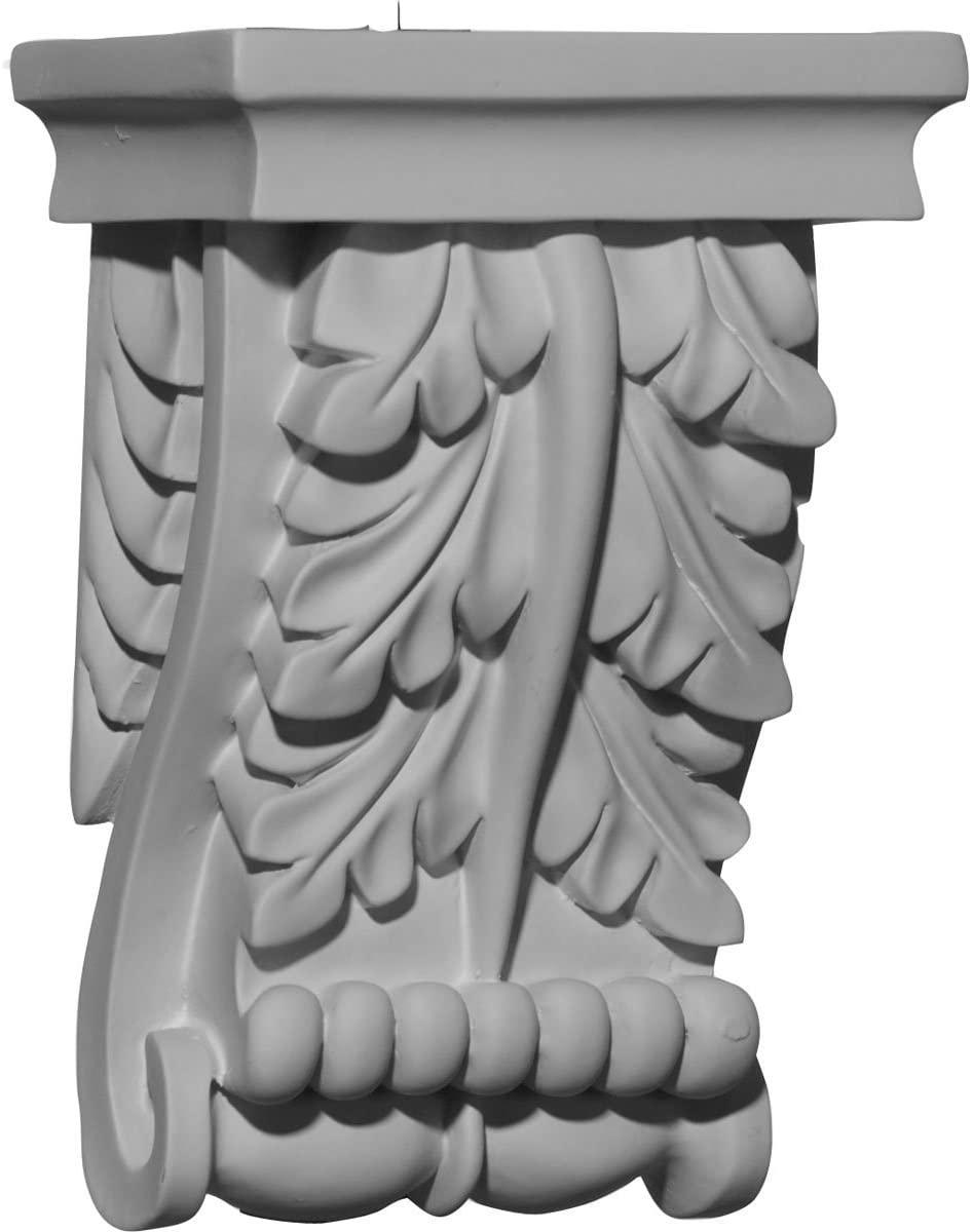 Ekena Millwork COR04X02X06LE-CASE-2 4 5/8 inch W x 2 3/4 inch D x 6 3/4 inch H Legacy Corbel (2-Pack),