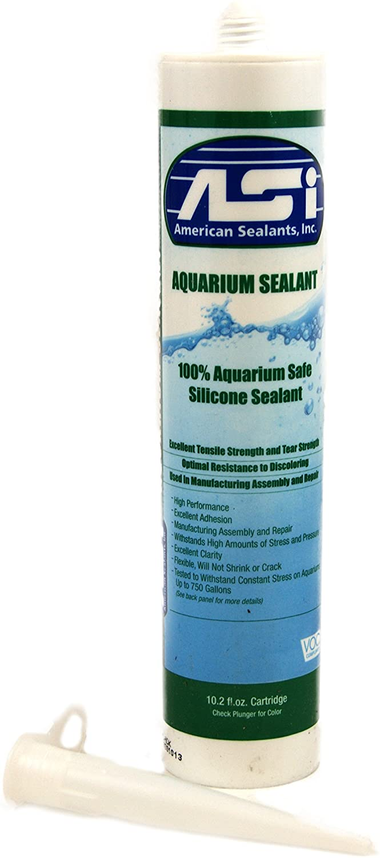American Sealants, Inc. Vivarium Safe Silicone (10.2 oz) Clear