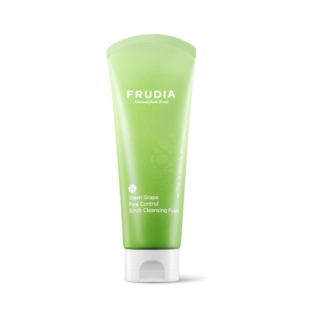 FRUDIA Green Grape Pore Control Scrub Cleansing Foam 145ml / 5.11 oz.