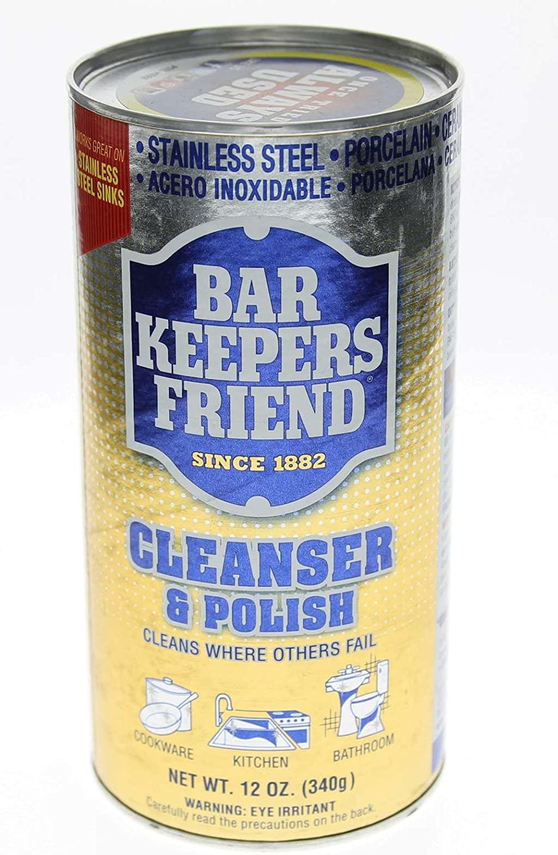 Bar Keepers Friend 11510 12 Oz Bar Keeper's Friend Cleanser & Polish