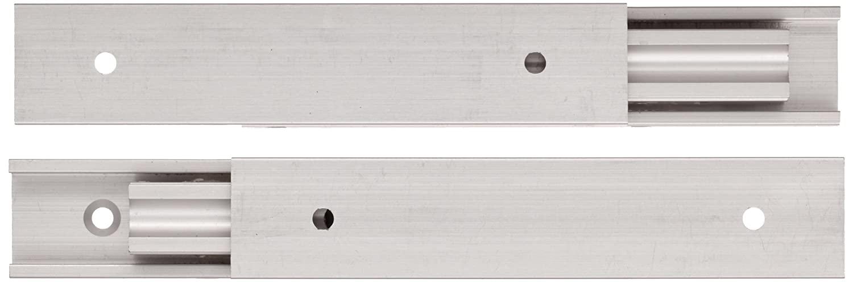 Sugastune AR3 Aluminum Drawer Slide, Full Extension, Positive Stop, 15-3/4