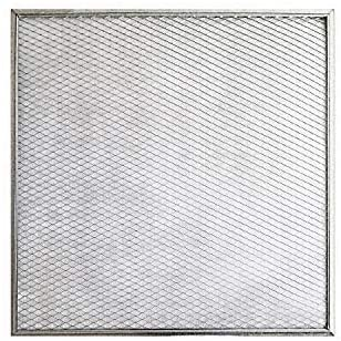 24x24x1 Lifetime Air Filter - Electrostatic Washable Permanent A/C Silver Steel Frame 65% more efficiency