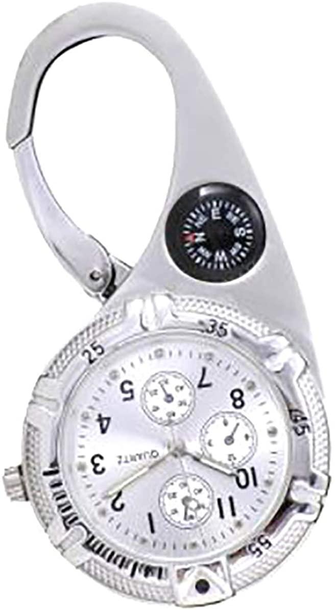 FunkyFobz Silver Paramedic Clip Watch