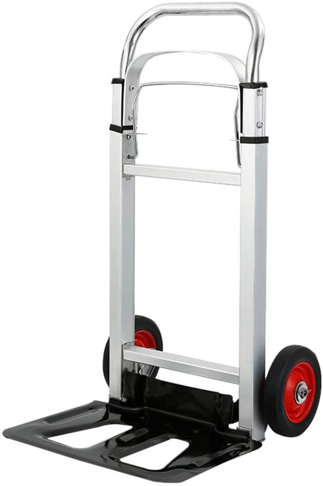 HLL Trolley,Multifunction Portable Hand Trucks Shopping Cart,Sack Car Luggage Cart Garden Portable Tool Cart Folding Cart Home Truck, Bearing About 200Kg