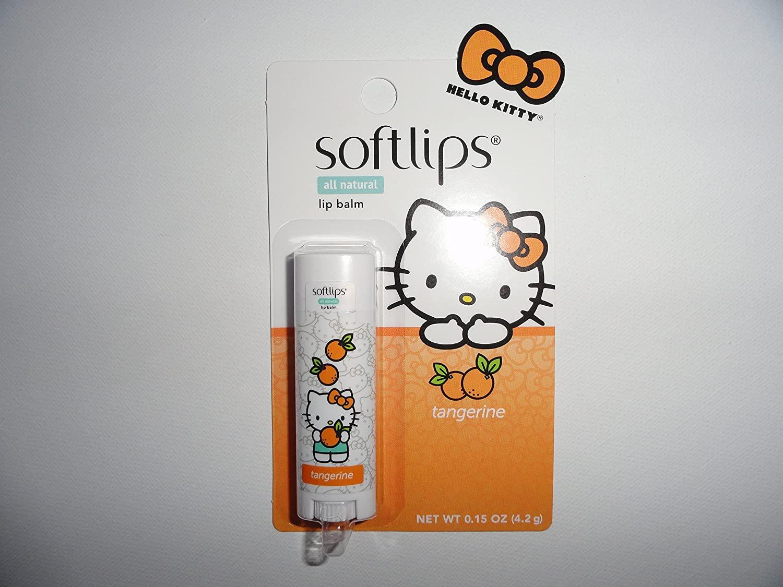 Softlips All Natural Hello Kitty Lip Balm - Tangerine 0.15 oz / 4.2 g