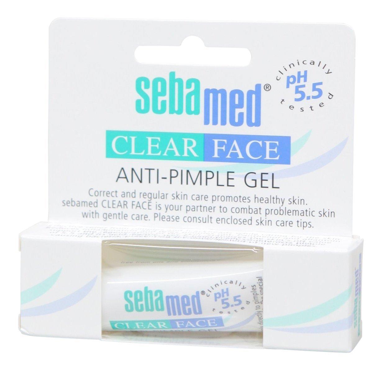 Sebamed Clear Face Anti-Pimple Gel, 10ml (2 Pack)