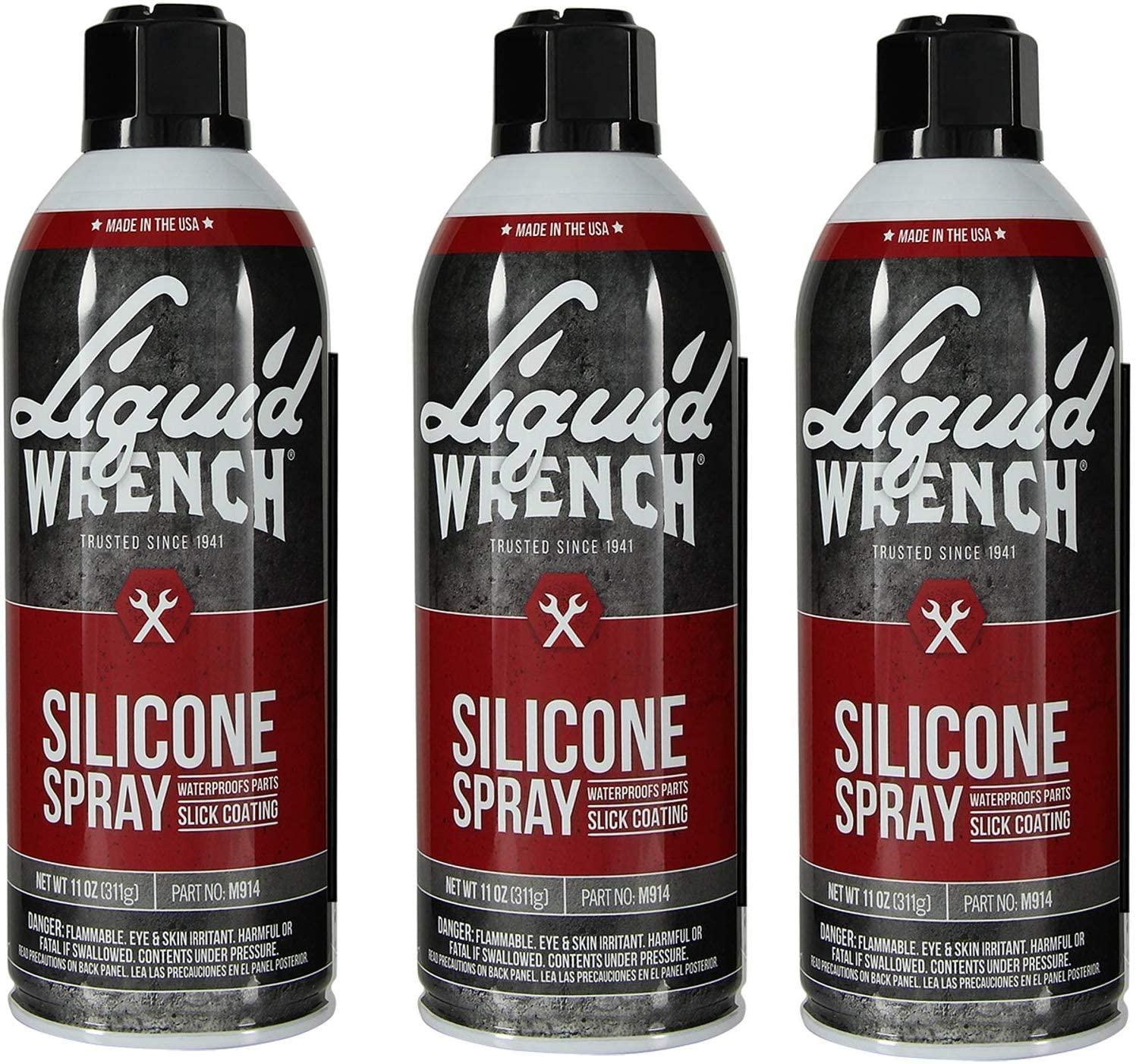 Liquid Wrench M914 Silicone Spray - 11 oz (3 Pack)