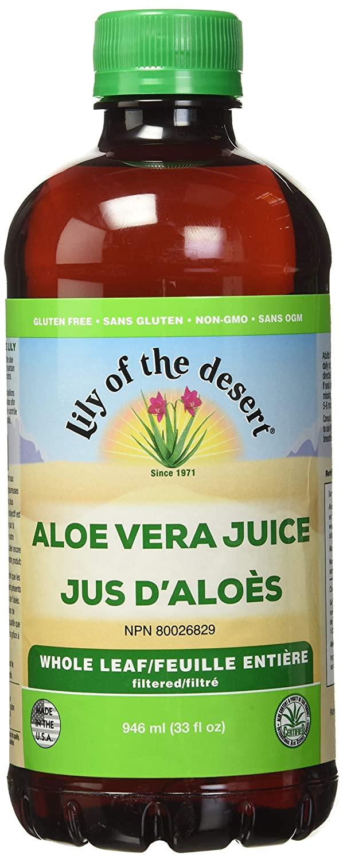 Lily of the Desert Aloe Vera Whole Leaf Juice, 32 Ounce