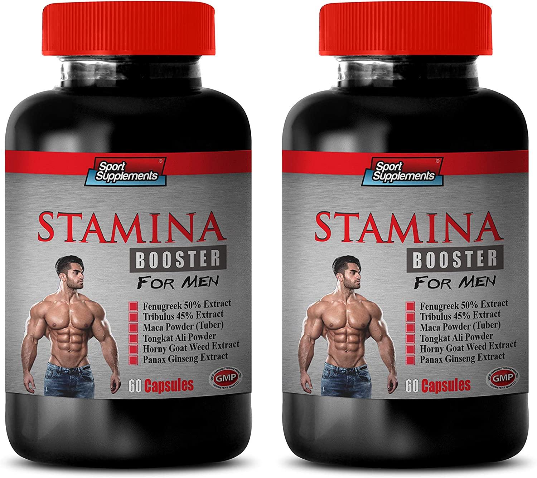 Increase Testosterone for Men - Boost Endurance Supplement - Stamina Booster for Men - Fenugreek Testosterone Booster - 2 Bottles 120 Capsules