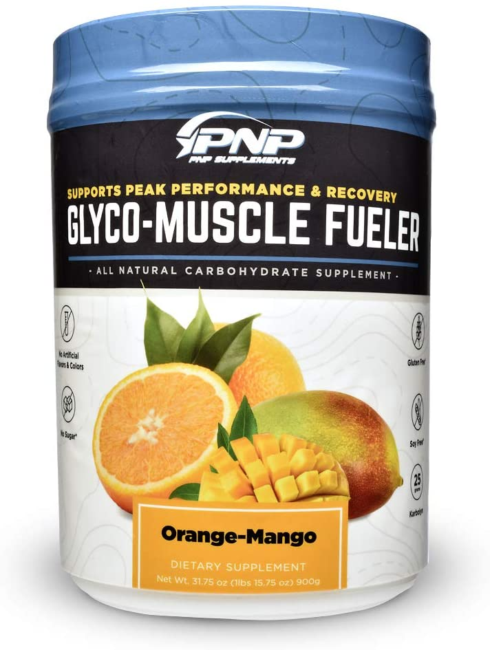 Glyco-Muscle Fueler | All-Natural Pre – Intra – Post Workout Carbohydrate Sports Supplement | Hyper Absorbs with 2 Hours Sustained Energy | Karbolyn, Gluten Free, Sugar Free, Stimulant Free | 900g