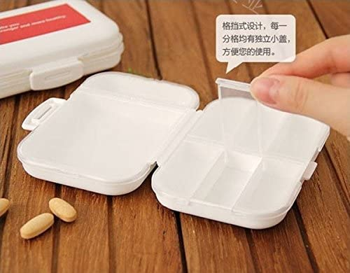 New Portable 8 Cells Empty Storage Pill Box Case for Pills Medicine Drug Folding