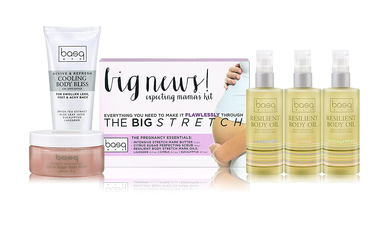 Basq Skin Care Big News Expecting Mama's Mini Kit