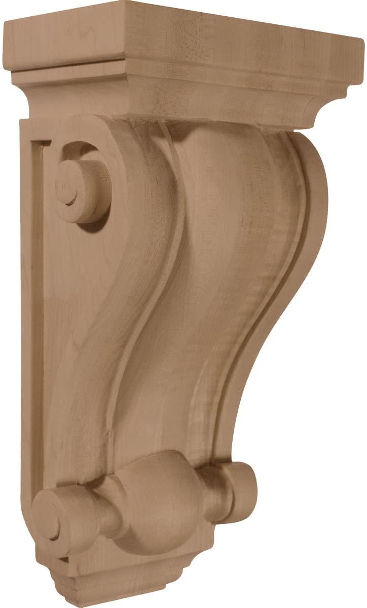 Ekena Millwork CORW06X04X12CORW-CASE-6 Corbel, Factory Primed