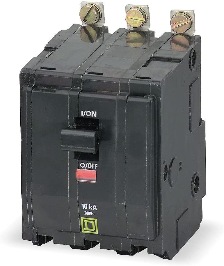 1- Square D Schneider Electric QOB330VH (SQD) 22,000 22K 3P 30A BOLT-IN