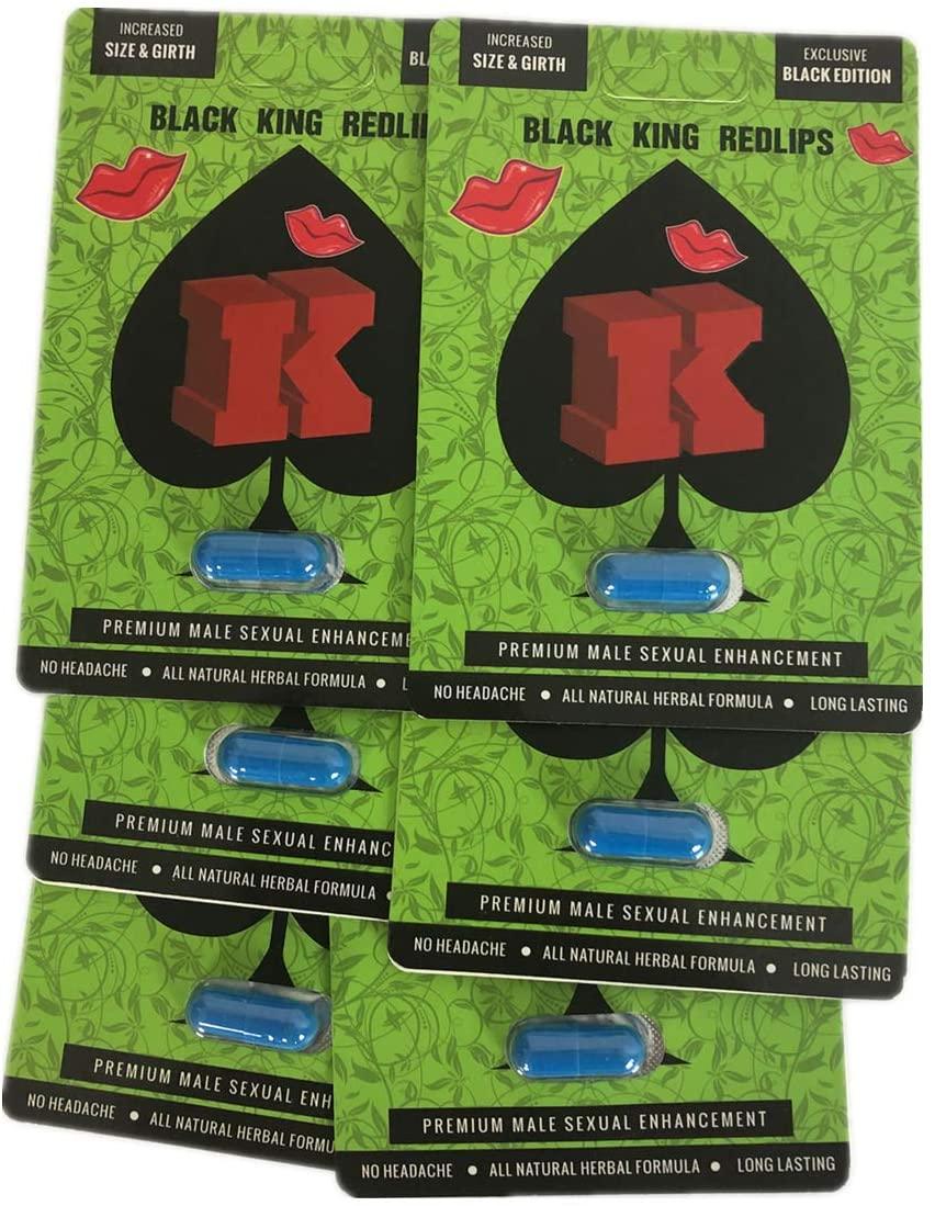Green K Redlips All Natural Energy Enhancement 6 Pills (1)