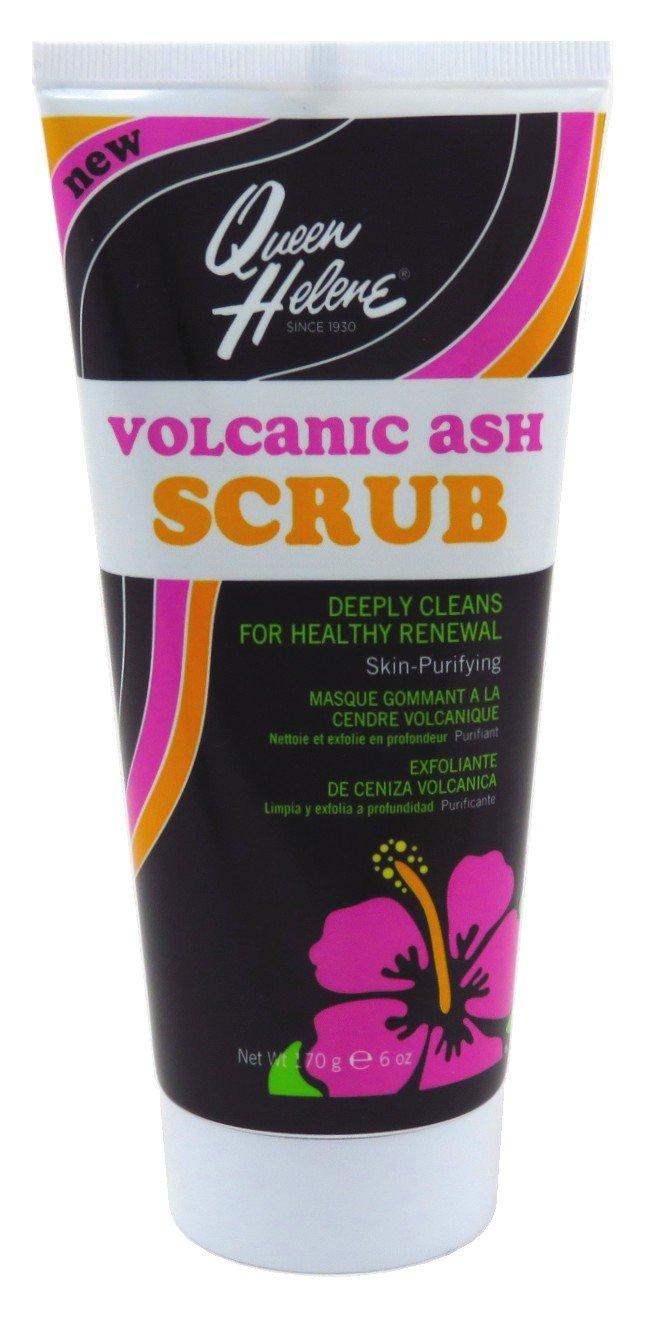 Queen Helene Tube Volcanic Ash Scrub 6 Ounce (177ml) (6 Pack)