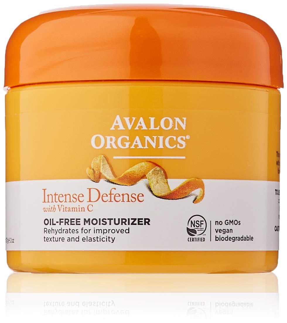 Avalon Organics Intense Defense Oil-Free Moisturizer, 2 Oz