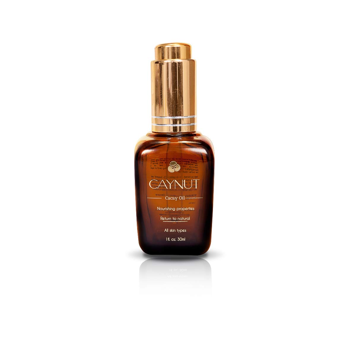 Caynut Nourishing Cacay Oil, High Retinol, Hydration and Anti Aging Night Repair Formula 100% Natural