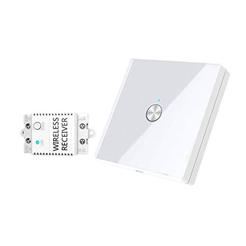 Calvas HIPERDEAL 2Wall WIFI Remove Control Switch Capacitive Hand Switch Wireless Remote Control Glass Smart Home Device Simple Design - (Color: B)