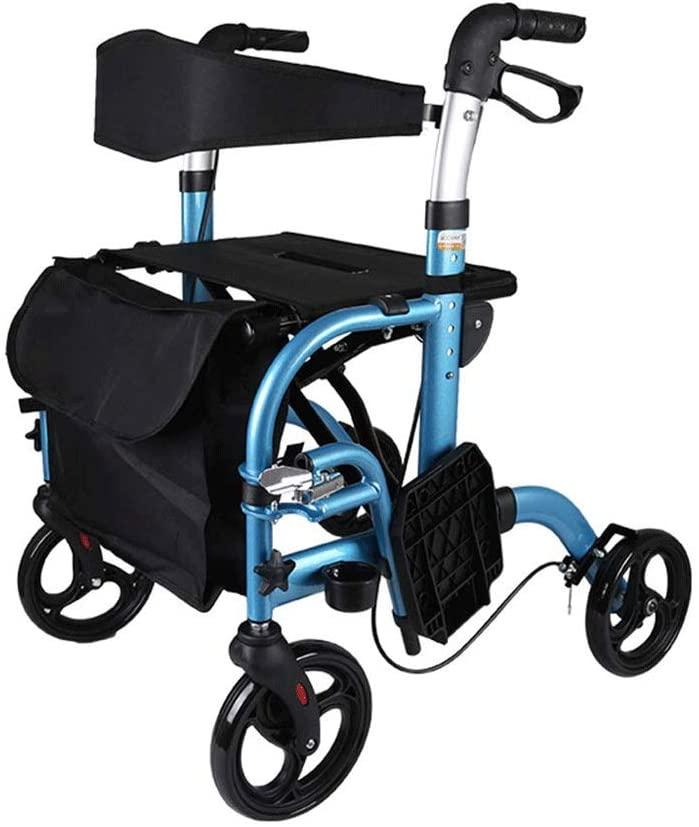 HWZLOIK 95x61 x (85~97) cm, Extra-Wide Wheelchair, Drive Wheelchair Ergonomic Comfortable Armrest Leg Support Nursing Cart