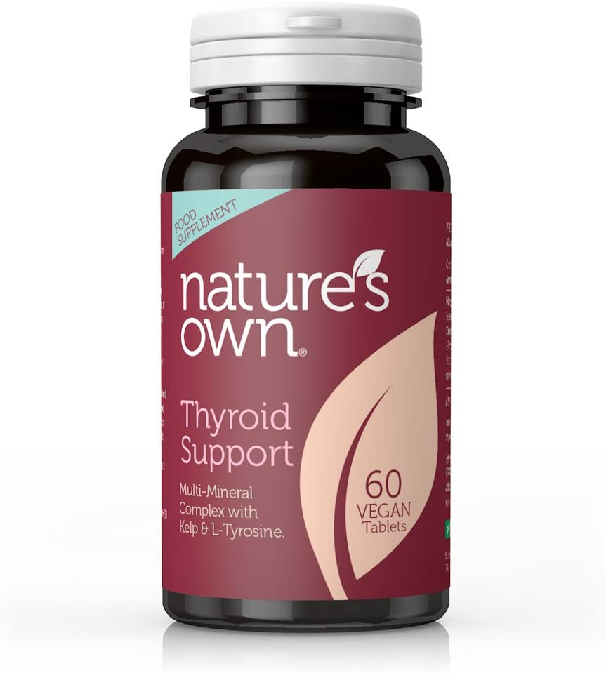 Natures Own Thyroid Suppo 60 Tablets