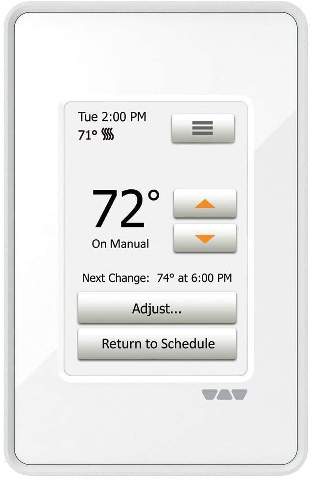 Ditra Heat Touchscreen Programmable Floor Heating Thermostat 120v/240v DITRA-HEAT-E-RT