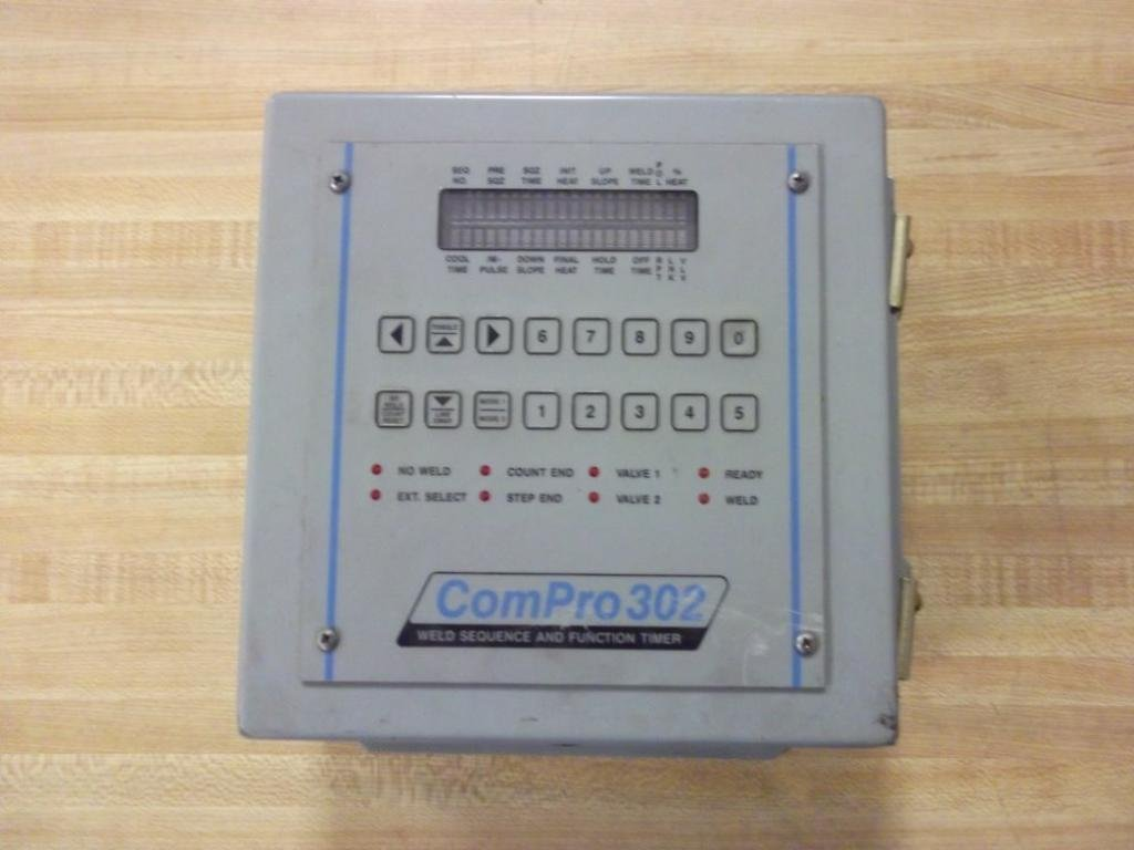 ComPro 302 Spot Weld Sequence and Function Timer