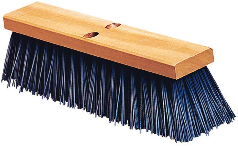 Carlisle 3611401814 Flo-Pac Floor Sweep, Hardwood Block, 4-1/2