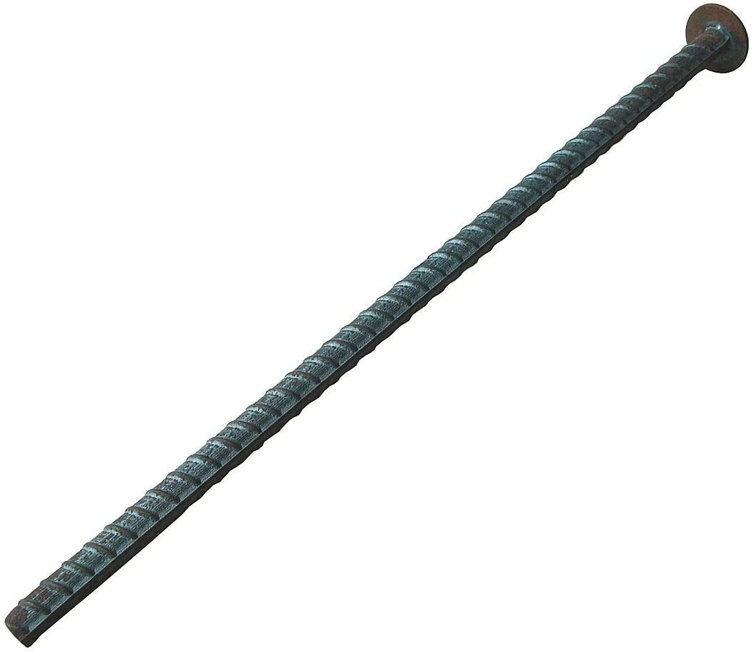 Rebar Spikes, 14in.L, 1-1/4in.W, 1-1/4in.H - 29NH39, (Pack of 10)