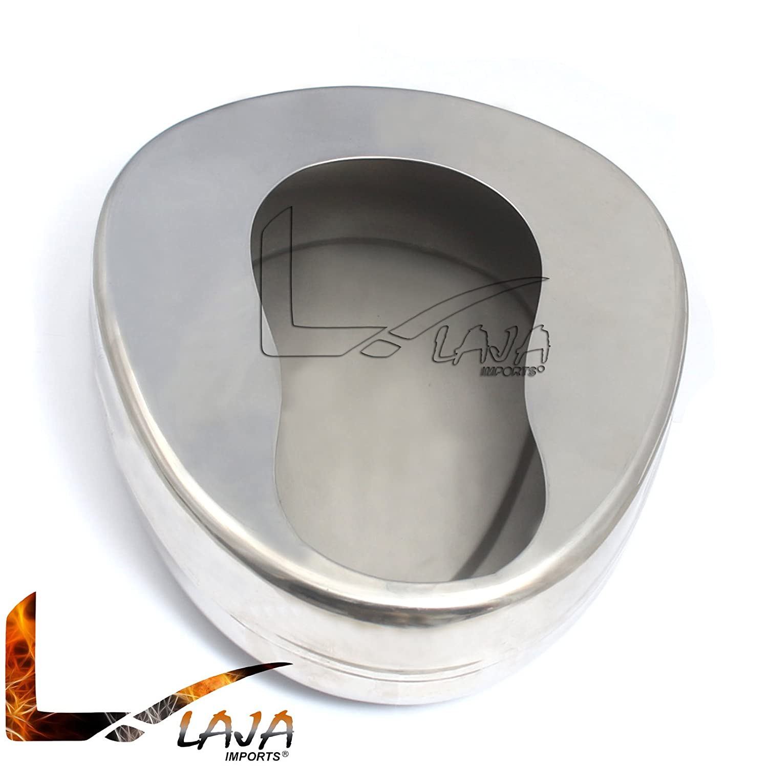 LAJA IMPORTS Stainless Steel Bed Pans, Adult, 14 X 11 3/8 Qty: 1