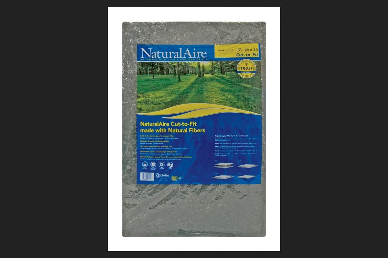 Precisionaire Latex Pad 20  X 30  X 1  Natural Hair Matted Fiber Washable