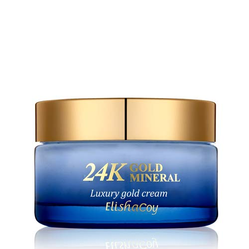 Elishacoy 24K Gold Mineral Cream 50g. X Mask Pack 1p + Sample