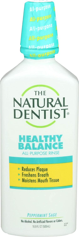 The Natural Dentist Healthy Balance All Purpose Rinse 16.9 oz