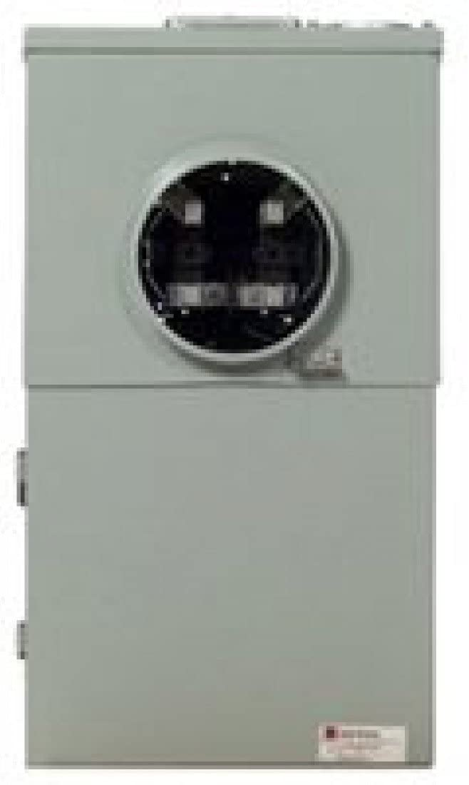 EATON MBT48B200BTS All-In-One Combination Ring less Meter Breaker/Center, 120/240 Vac, 200 A