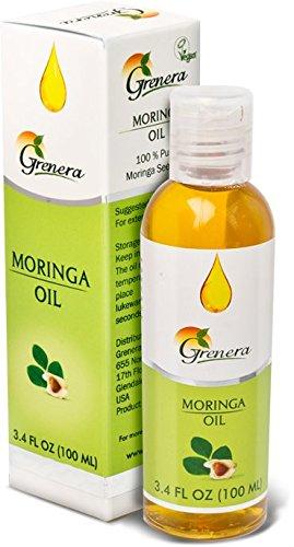 Organic Moringa Oil - 3.4 oz