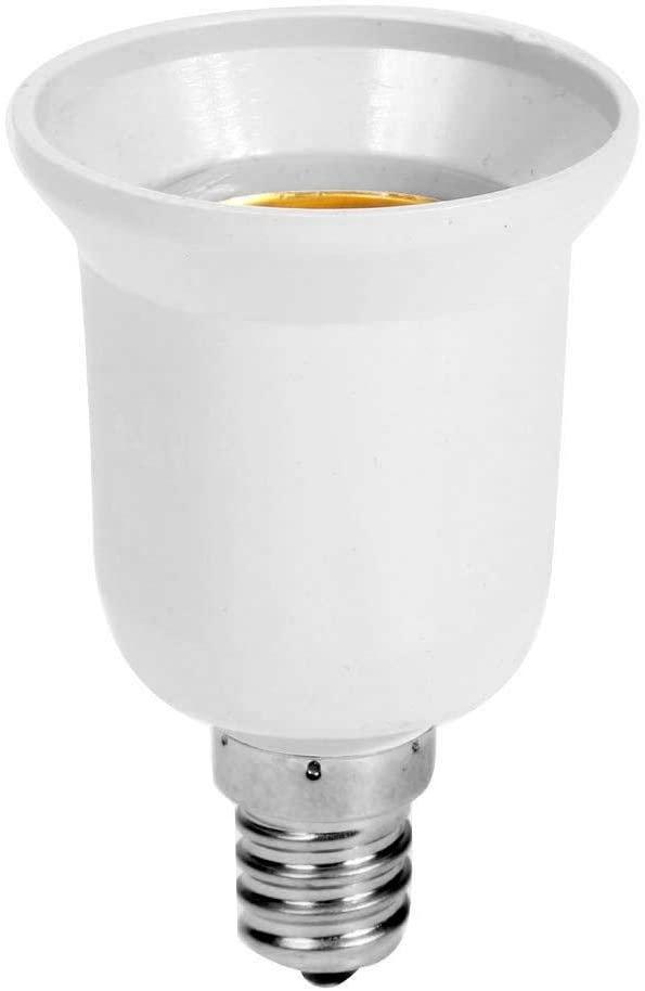 ttnight Lamp Holder, Lamp Socket, Light Adapter Screw Bulb Socket Lamp Holder Converter for E14 to E27