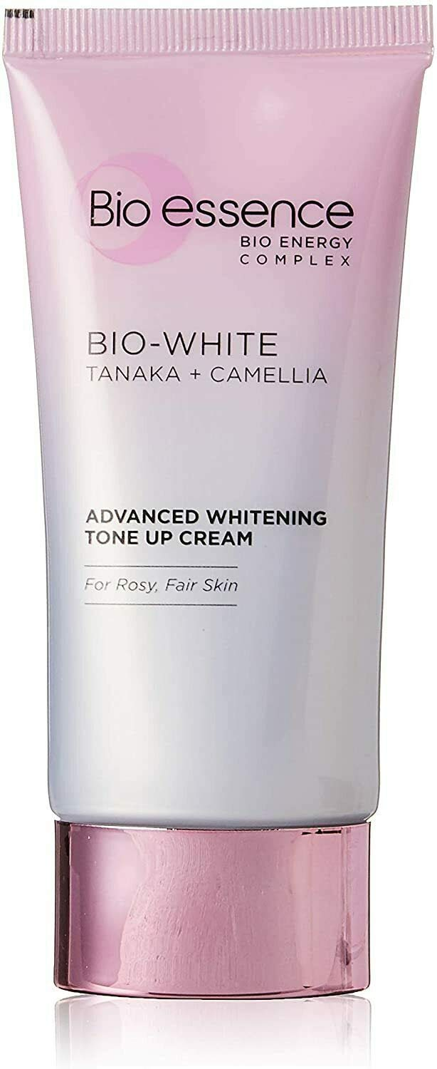 Bio Essence 40g Bio White Tanaka + Camellia Advanced Whitening Tone Up Cream From Taiwan