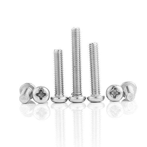 #15 X 1 Stainless Round Phillips Wood Screw (16 pc) for Honor-Y Solar Step Lights
