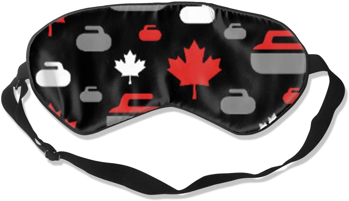 Canada Curling Women Men Eye Shade Cover for Sleeping,Eye Mask for Night Sleep