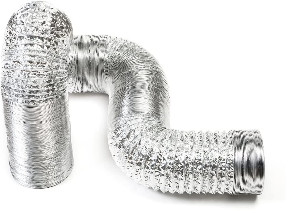 STERR - 33' feet Aluminum Flexible Duct Hose 6