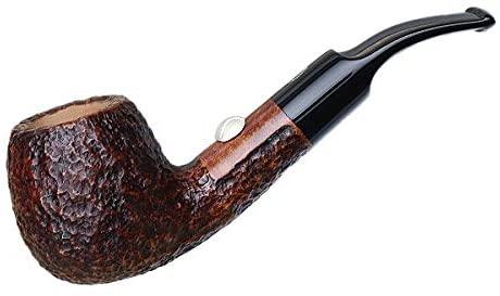 Savinelli Tennis Rusticated Brown Tobacco Pipe