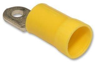 MOLEX 19071-0250 TERMINAL, RING TONGUE, #10, CRIMP, YELLOW (100 pieces)