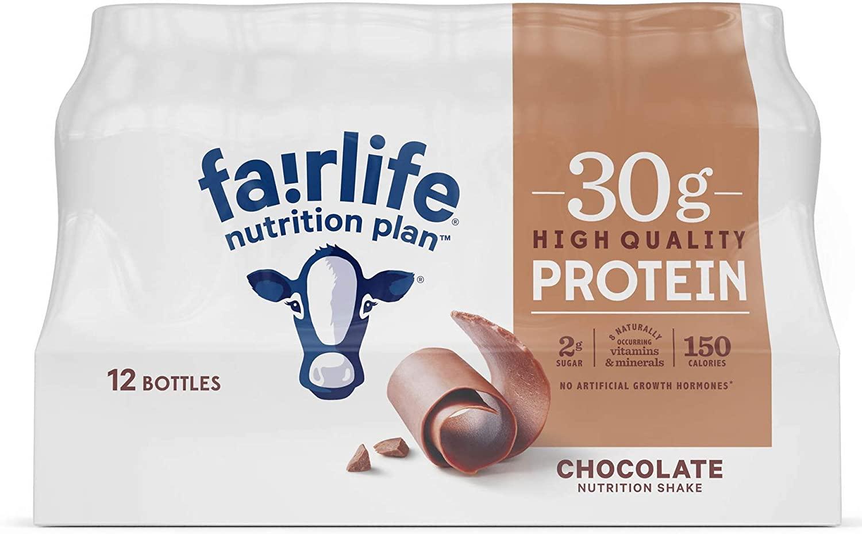Fairlife Nutrition Plan High Protein Chocolate Shake, 12 pk. B