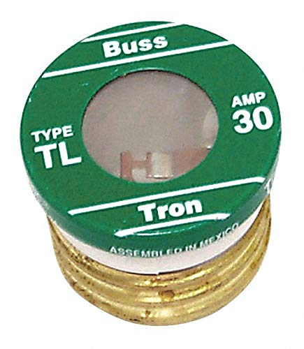Eaton BUSSMANN 30A Time Delay Nonindicating Fuse; TL Series - pkg. of 4