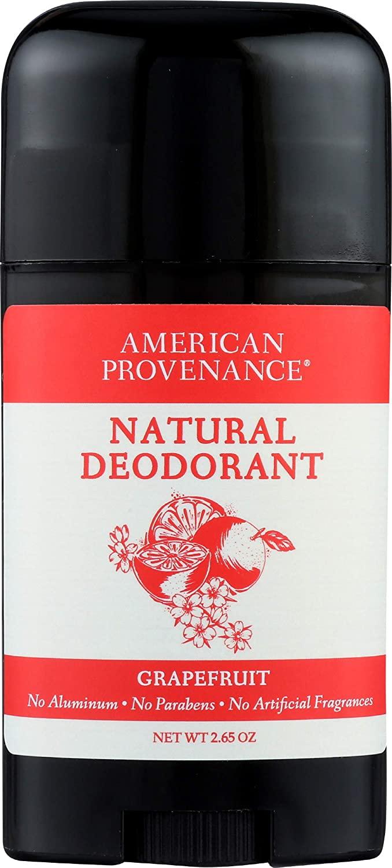 American Provenance Natural Deodorant, Grapefruit, 2.75 oz/75 gr